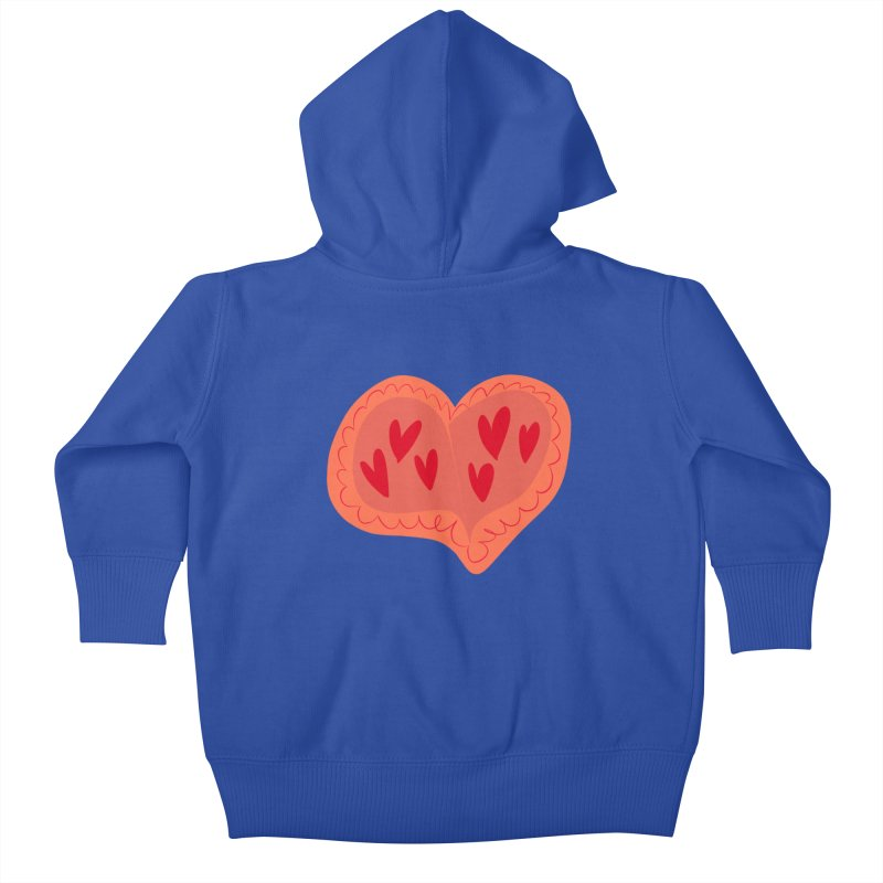 Heart of Hearts Kids Baby Zip-Up Hoody by Michael Pfleghaar