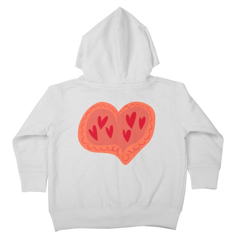 Heart of Hearts Kids Toddler Zip-Up Hoody by Michael Pfleghaar