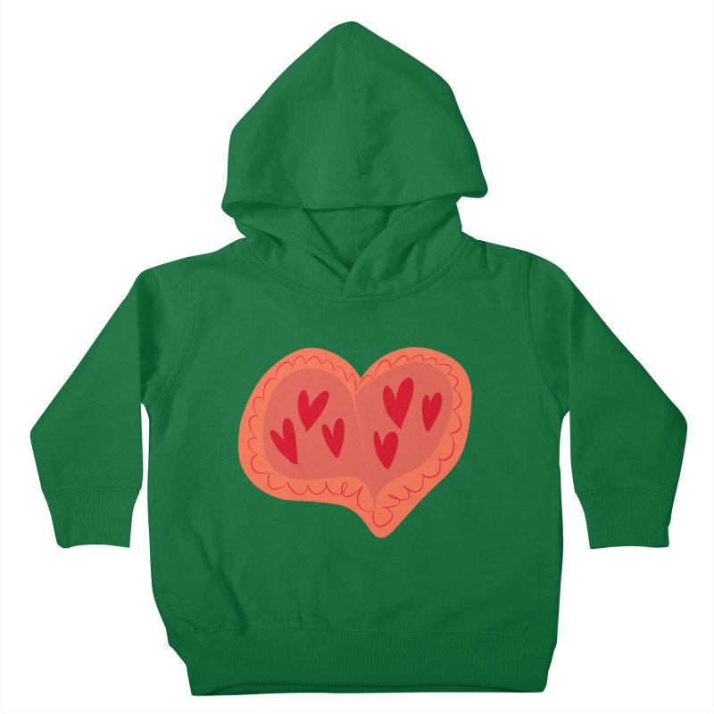 Heart of Hearts Kids Toddler Pullover Hoody by Michael Pfleghaar