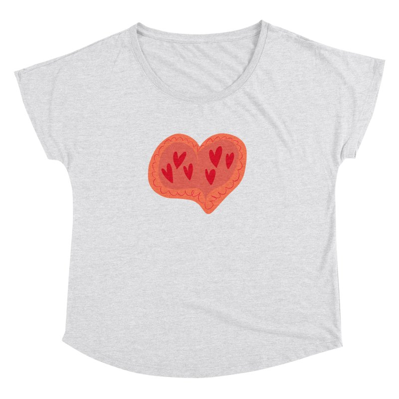 Heart of Hearts Women's Dolman by Michael Pfleghaar