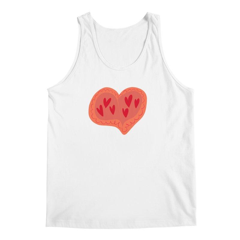 Heart of Hearts Men's Regular Tank by Michael Pfleghaar