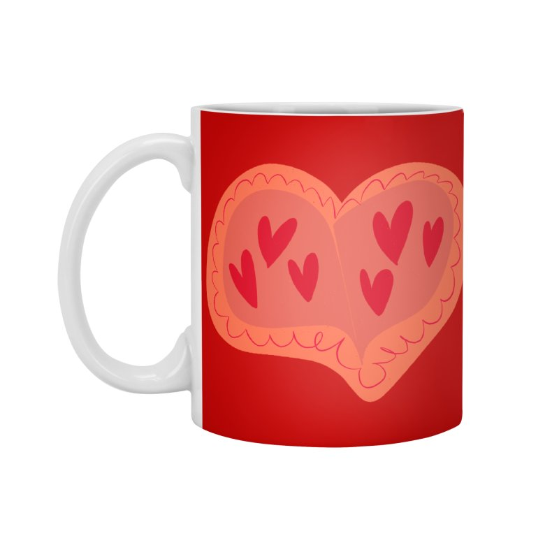 Heart of Hearts Accessories Mug by Michael Pfleghaar