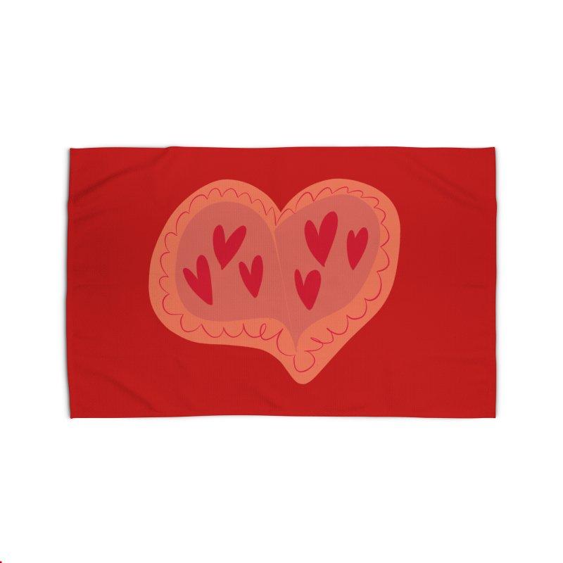 Heart of Hearts Home Rug by Michael Pfleghaar