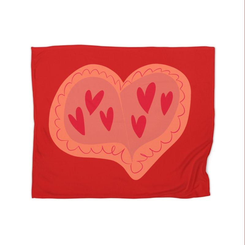 Heart of Hearts Home Blanket by Michael Pfleghaar