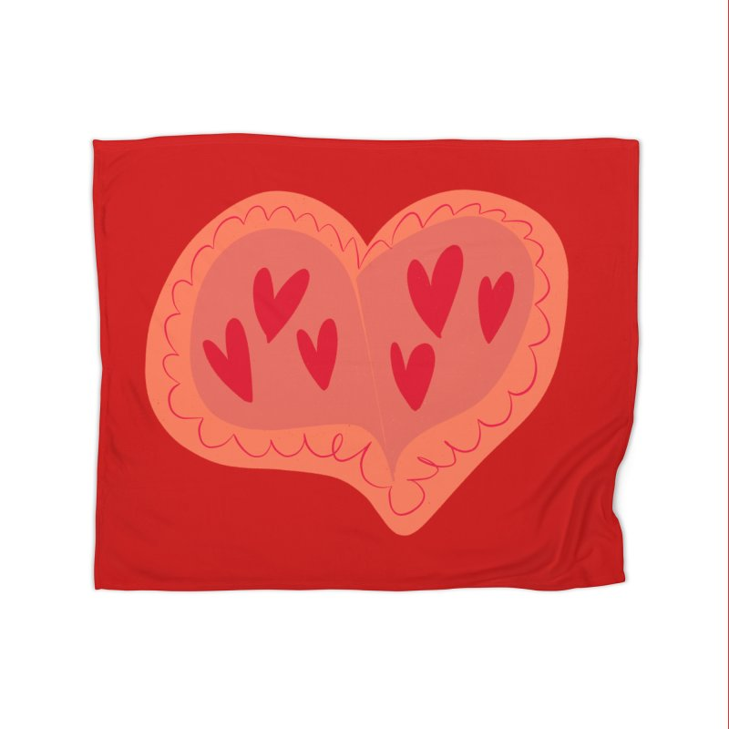 Heart of Hearts Home Blanket by Michael Pfleghaar