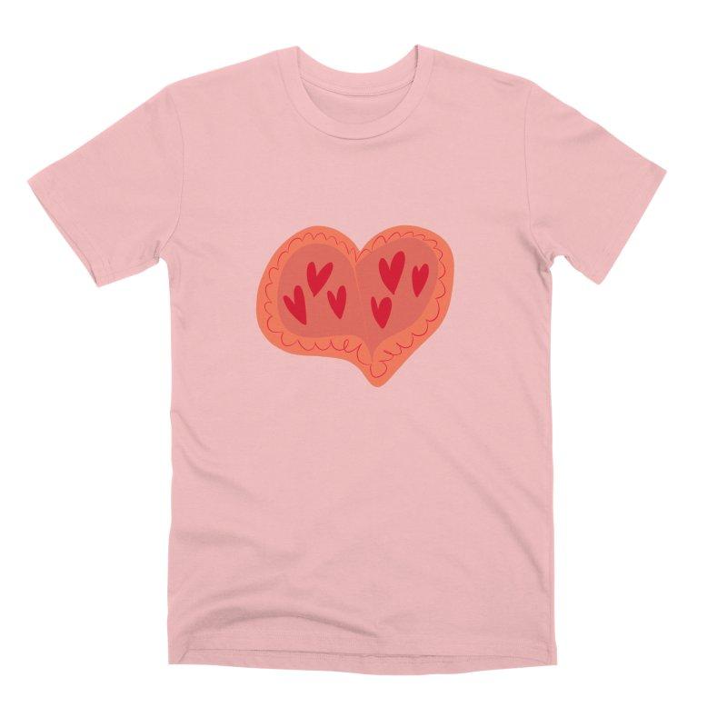 Heart of Hearts Men's Premium T-Shirt by Michael Pfleghaar