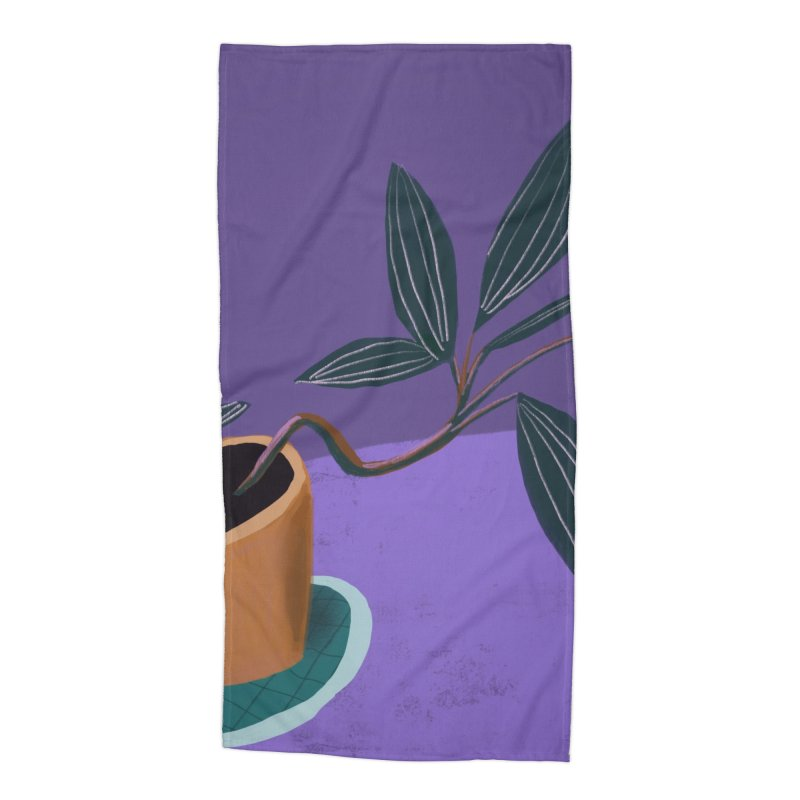 Ultra Violet Jewel Orchid Accessories Beach Towel by Michael Pfleghaar