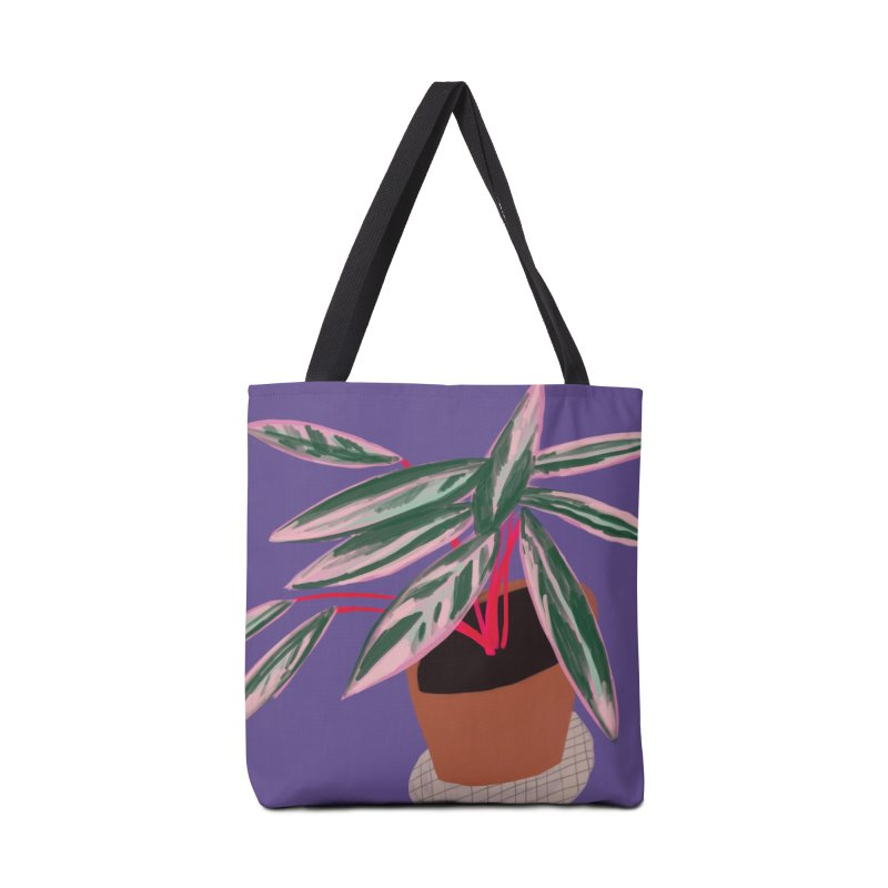 Ultra Violet Stromanthe Plant Accessories Bag by Michael Pfleghaar