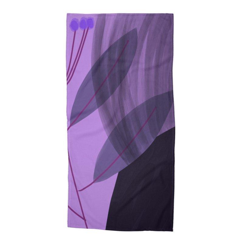New Leaf 5 Accessories Beach Towel by Michael Pfleghaar
