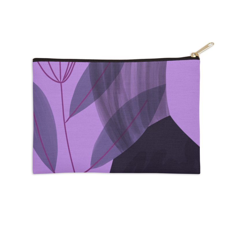 New Leaf 5 Accessories Zip Pouch by Michael Pfleghaar