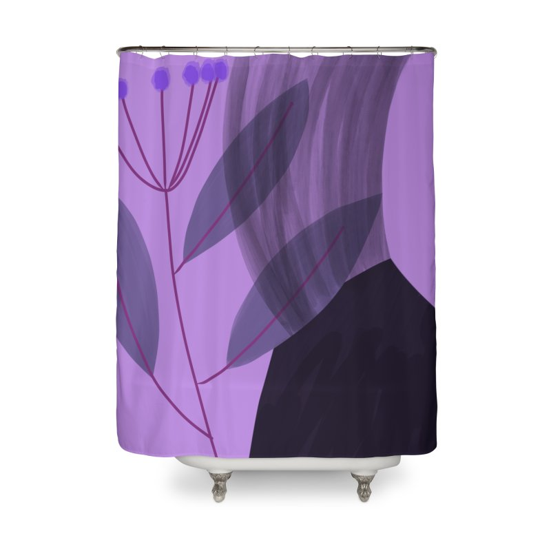 New Leaf 5 Home Shower Curtain by Michael Pfleghaar
