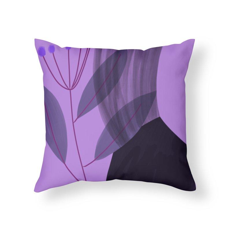 New Leaf 5 Home Throw Pillow by Michael Pfleghaar