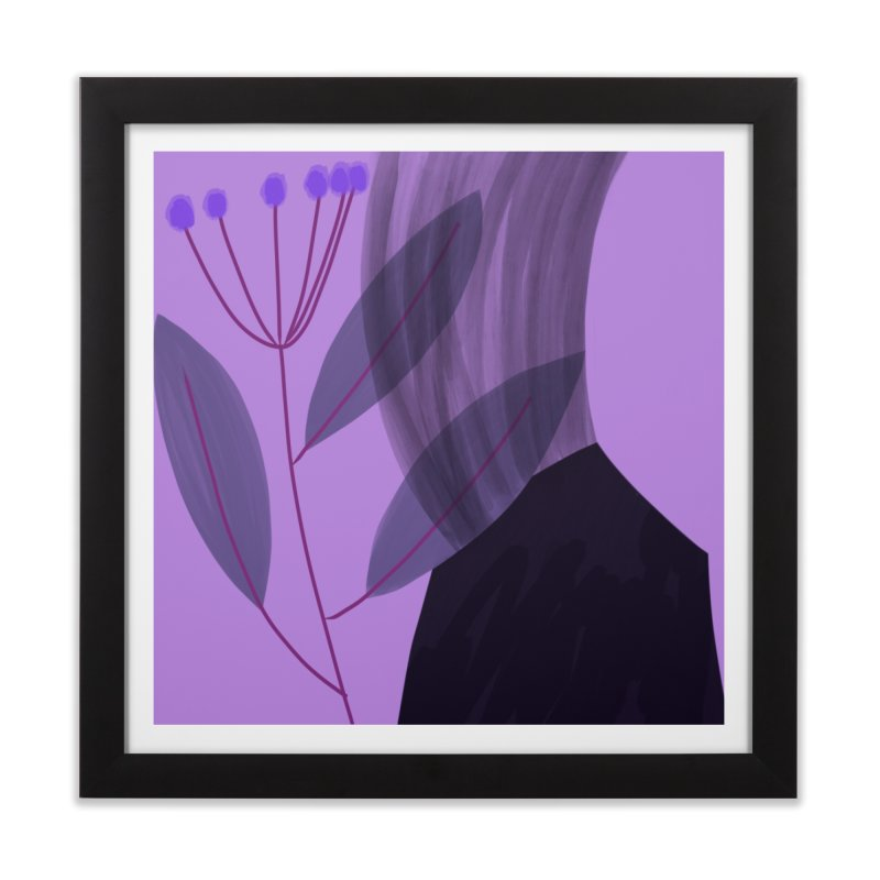 New Leaf 5 Home Framed Fine Art Print by Michael Pfleghaar