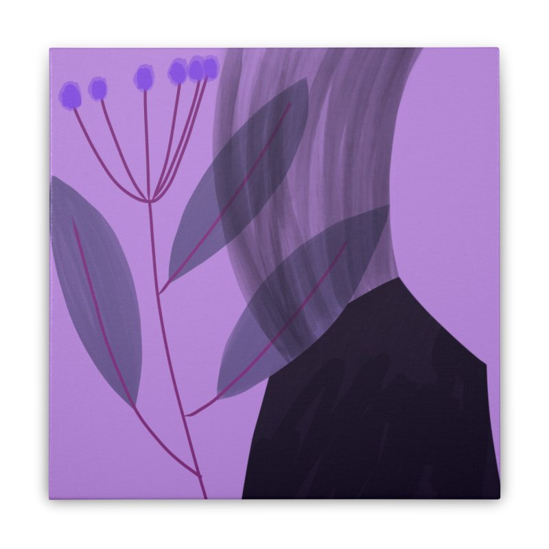 New Leaf 5 Home Stretched Canvas by Michael Pfleghaar