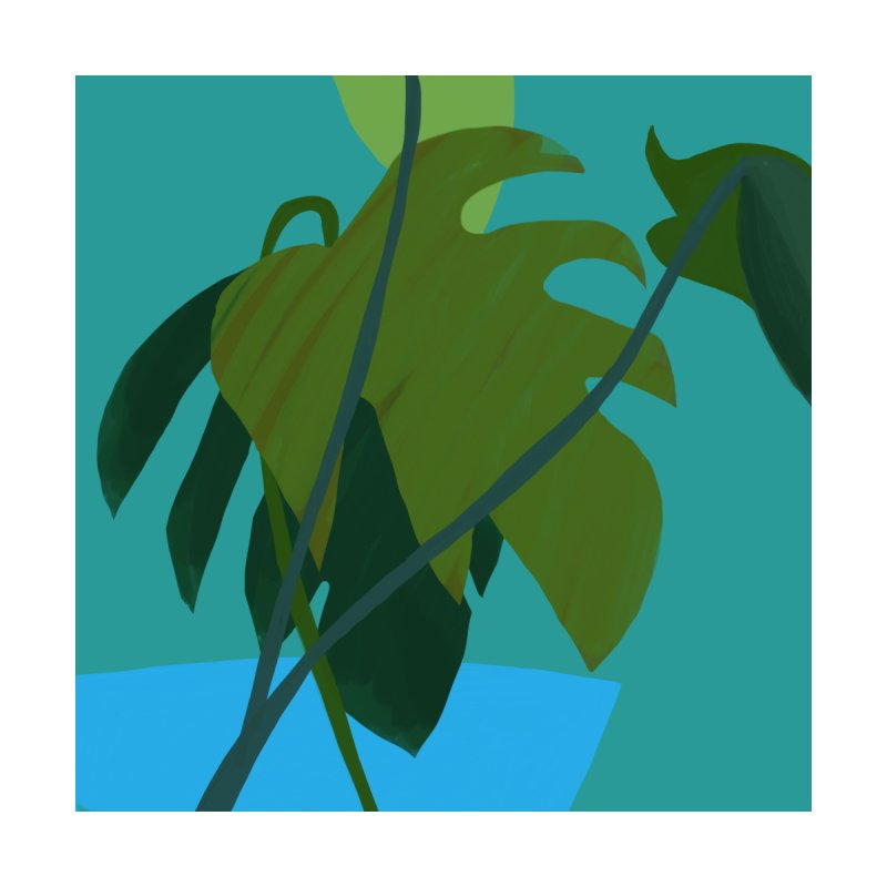 Philodendron Leaves by Michael Pfleghaar