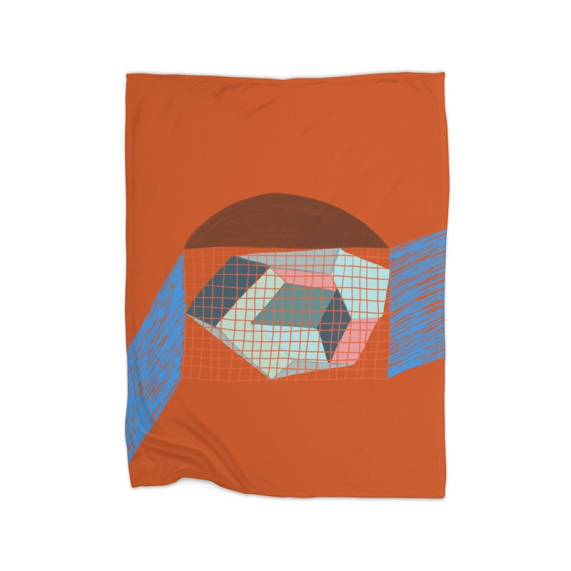 Imaginary Architecture 1 Home Blanket by Michael Pfleghaar