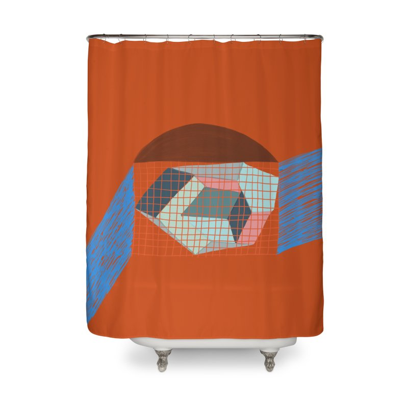 Imaginary Architecture 1 Home Shower Curtain by Michael Pfleghaar