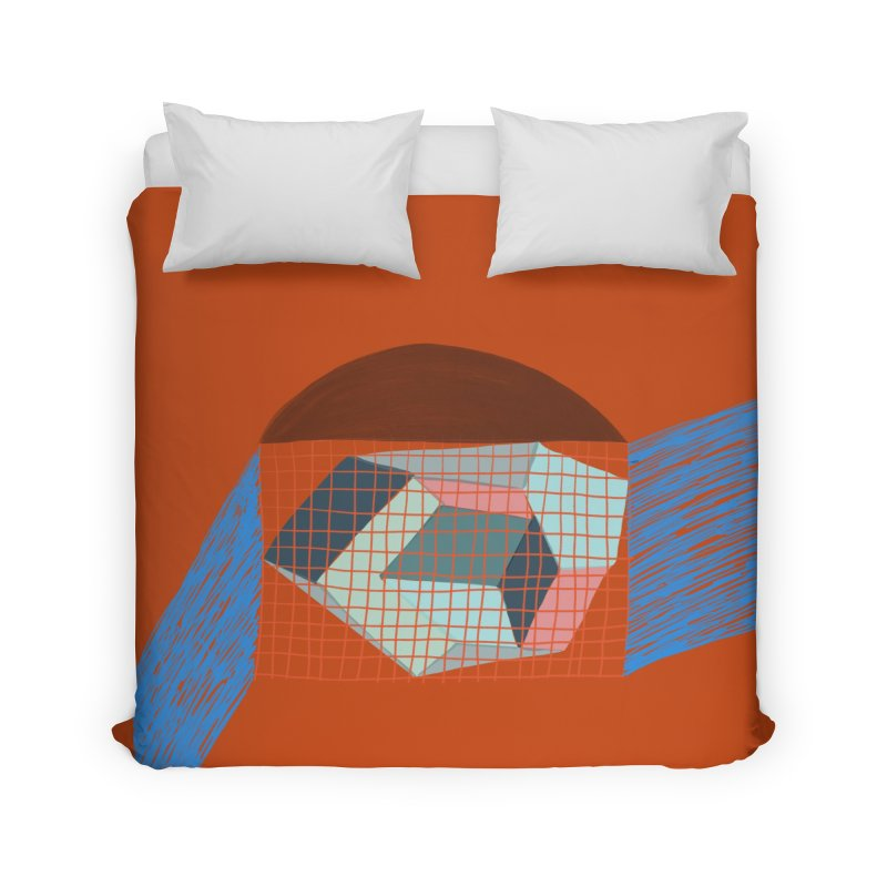 Imaginary Architecture 1 Home Duvet by Michael Pfleghaar