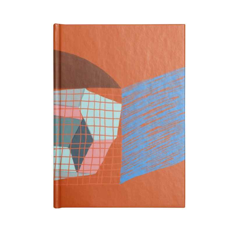Imaginary Architecture 1 Accessories Notebook by Michael Pfleghaar