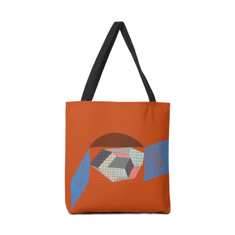 Imaginary Architecture 1 Accessories Bag by Michael Pfleghaar