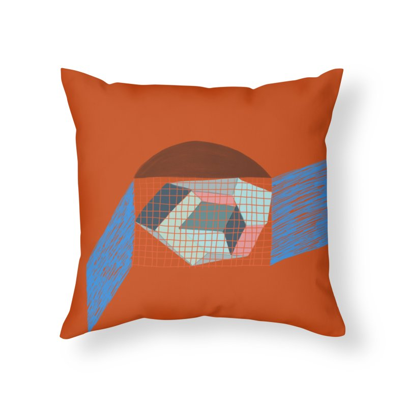 Imaginary Architecture 1 Home Throw Pillow by Michael Pfleghaar