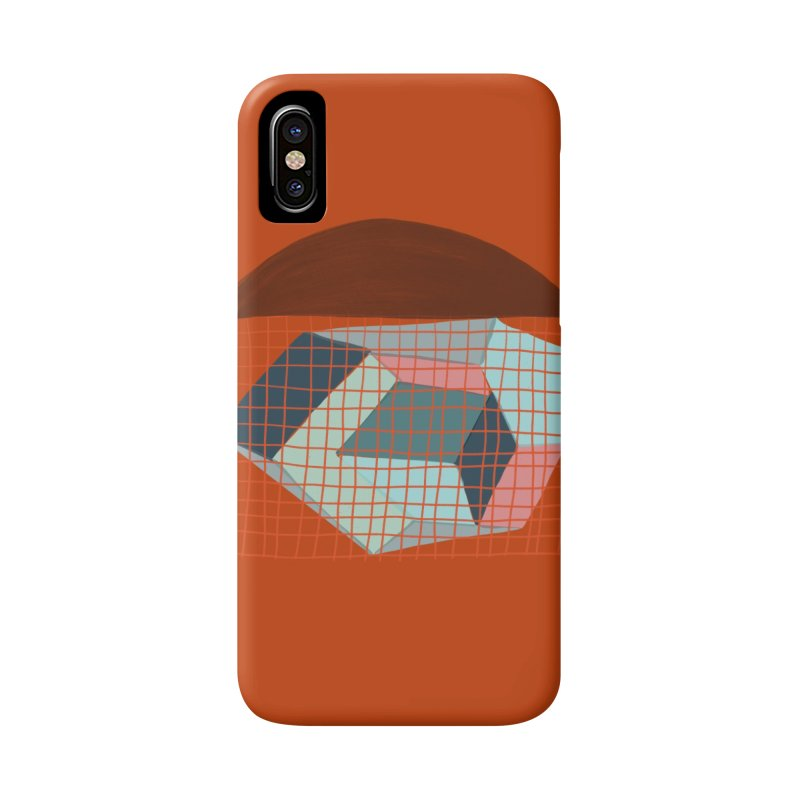 Imaginary Architecture 1 Accessories Phone Case by Michael Pfleghaar