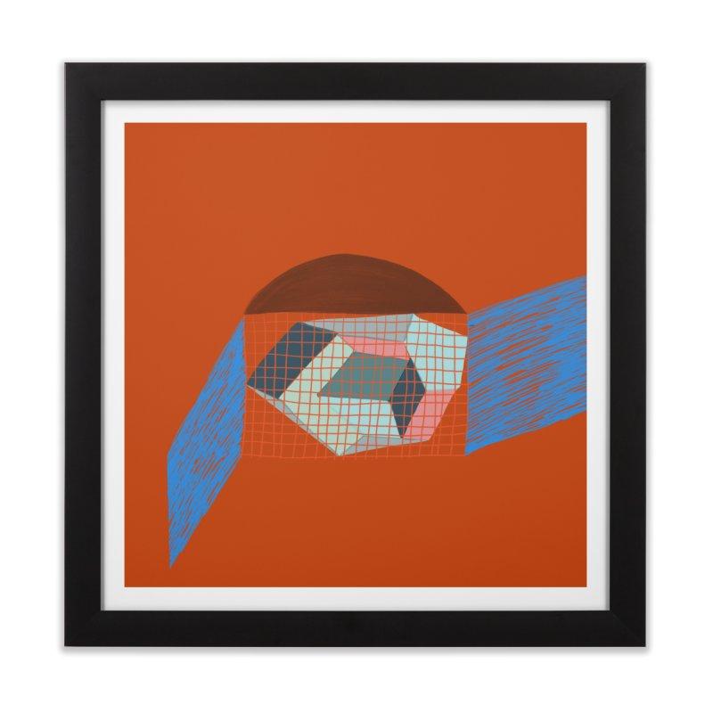 Imaginary Architecture 1 Home Framed Fine Art Print by Michael Pfleghaar