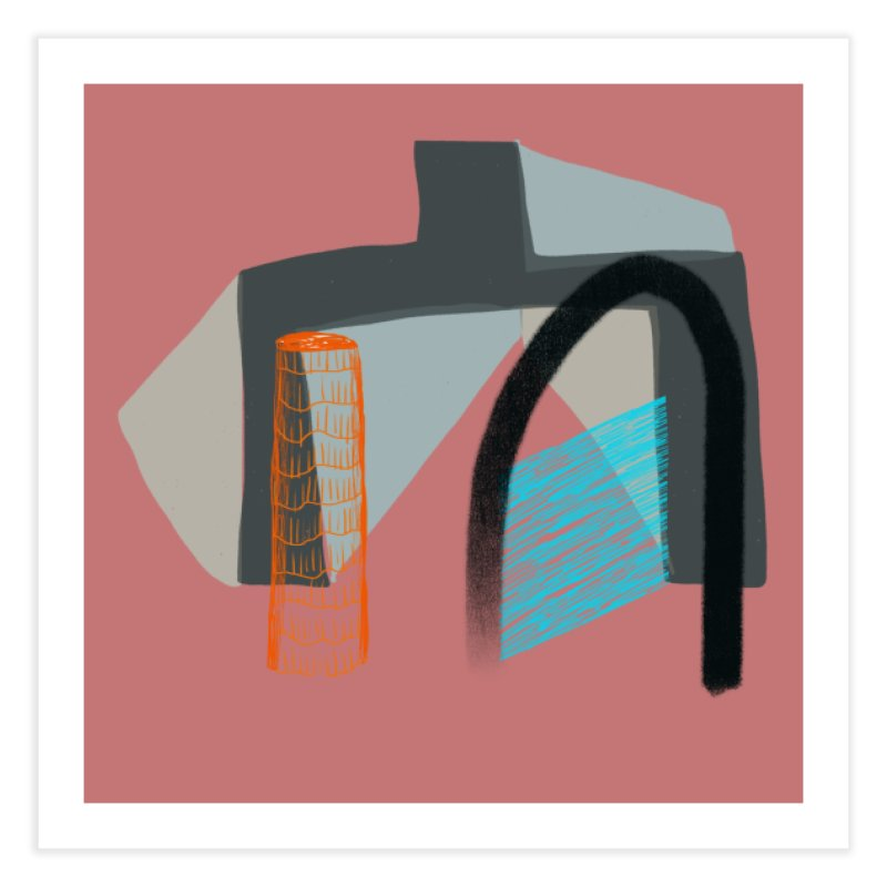 Imaginary Architecture 2 in Fine Art Print by Michael Pfleghaar