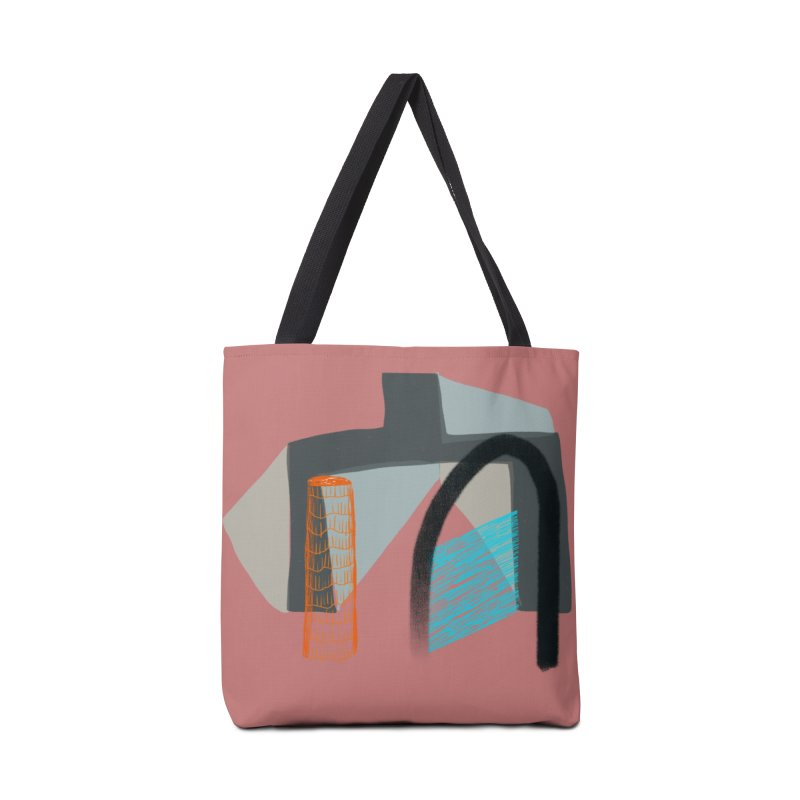 Imaginary Architecture 2 Accessories Bag by Michael Pfleghaar