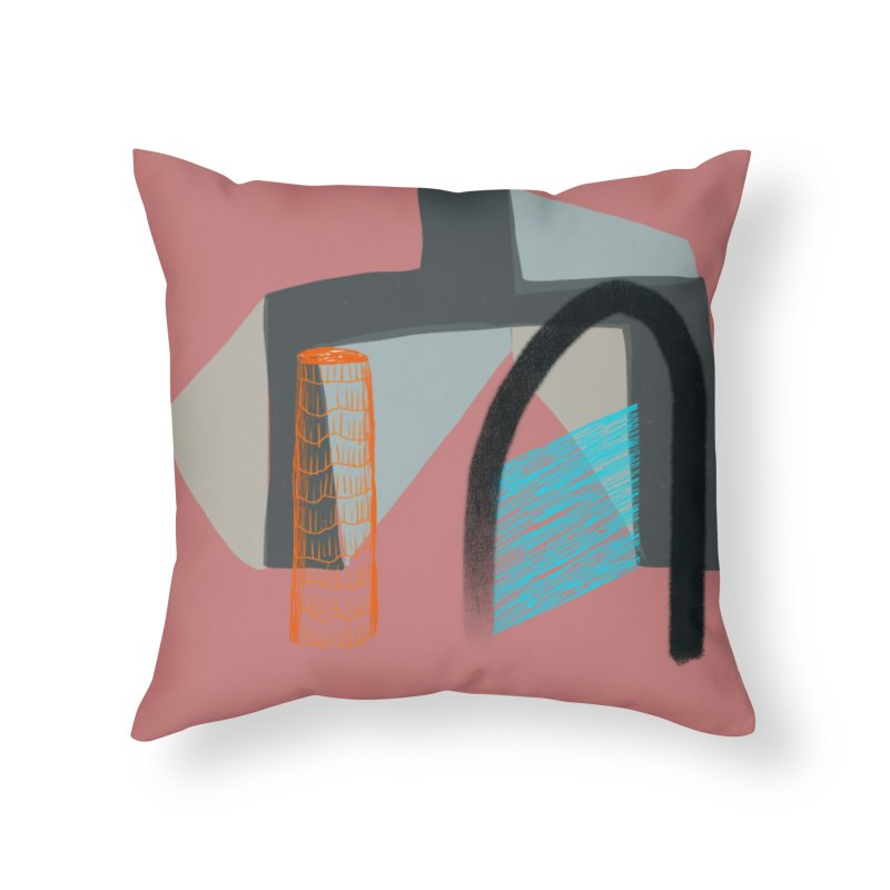 Imaginary Architecture 2 Home Throw Pillow by Michael Pfleghaar