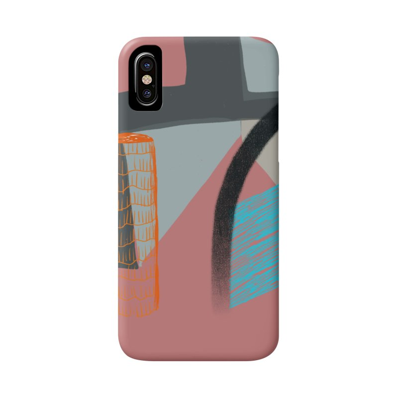 Imaginary Architecture 2 Accessories Phone Case by Michael Pfleghaar