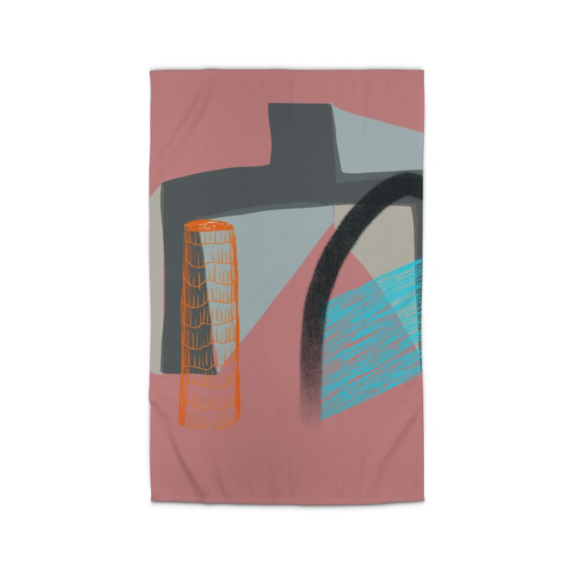 Imaginary Architecture 2 Home Rug by Michael Pfleghaar