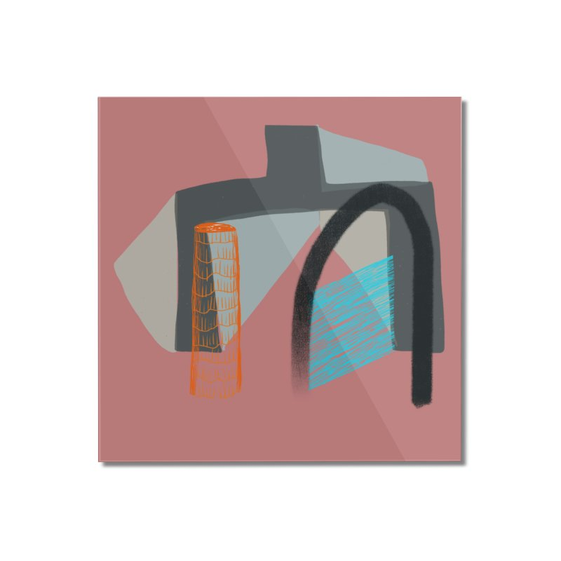 Imaginary Architecture 2 Home Mounted Acrylic Print by Michael Pfleghaar