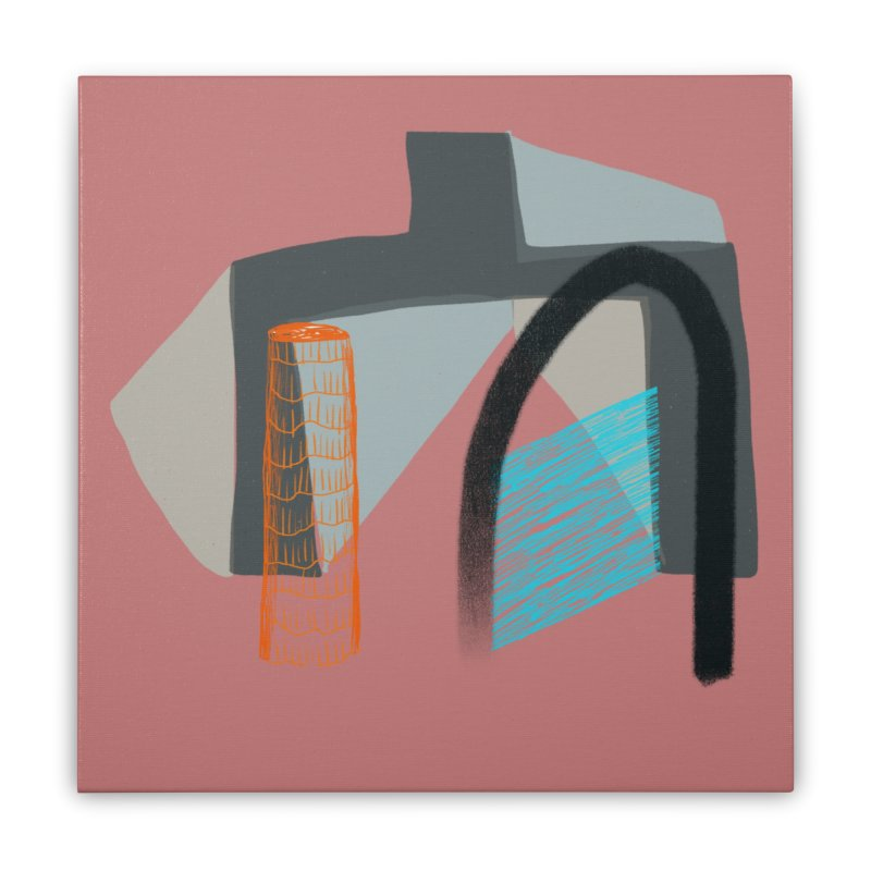 Imaginary Architecture 2 Home Stretched Canvas by Michael Pfleghaar