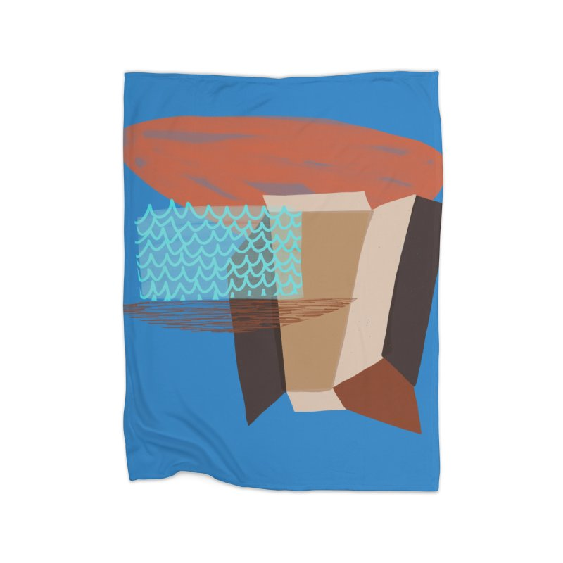 Imaginary Architecture 3 Home Blanket by Michael Pfleghaar