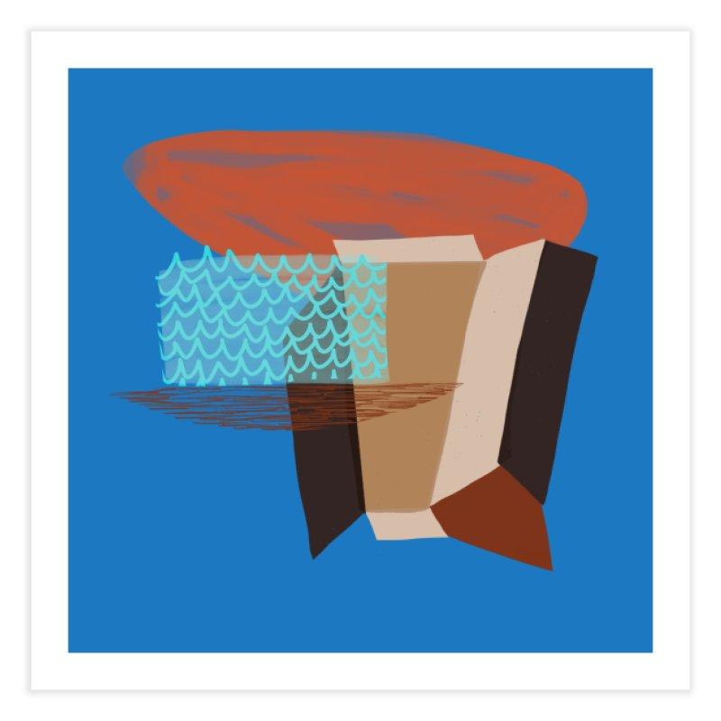 Imaginary Architecture 3 Home Fine Art Print by Michael Pfleghaar