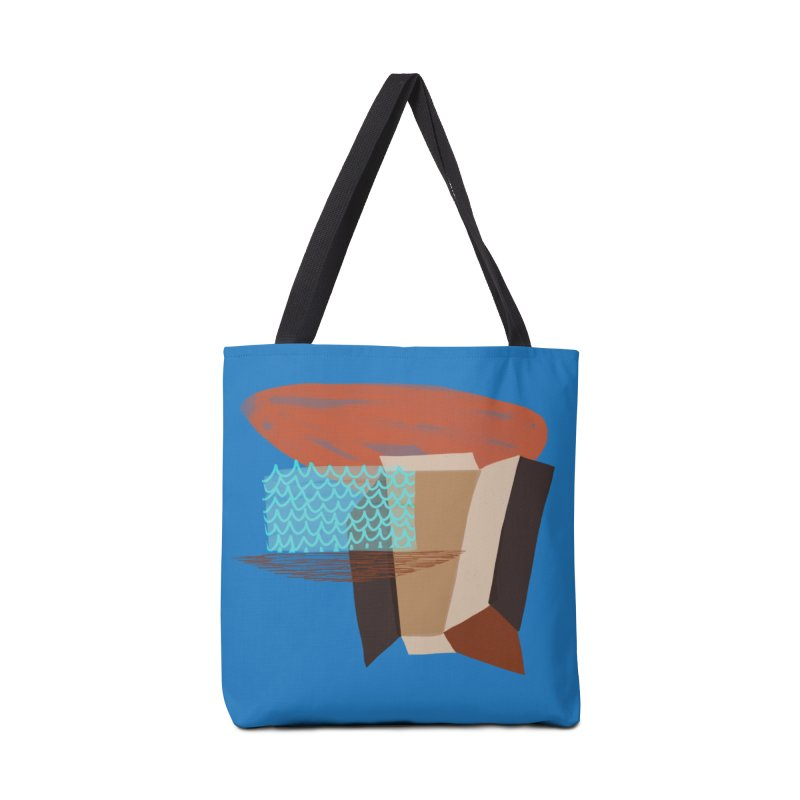 Imaginary Architecture 3 Accessories Bag by Michael Pfleghaar