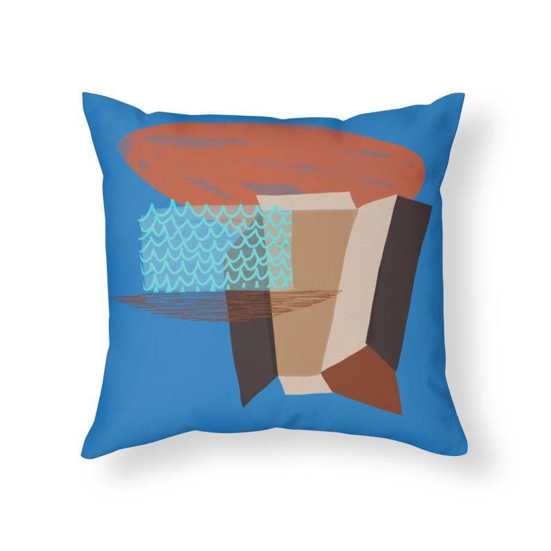 Imaginary Architecture 3 Home Throw Pillow by Michael Pfleghaar