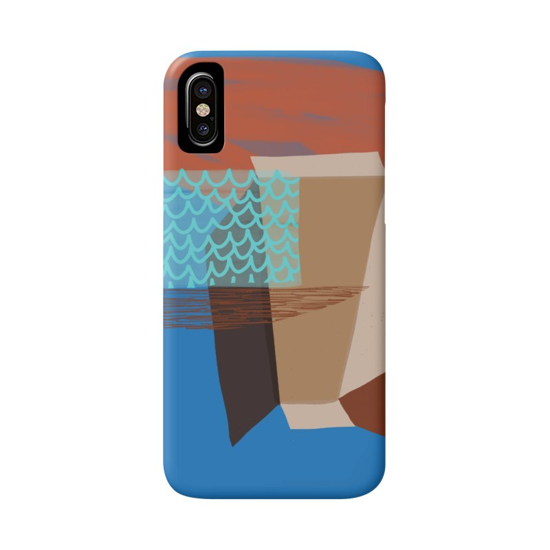 Imaginary Architecture 3 Accessories Phone Case by Michael Pfleghaar