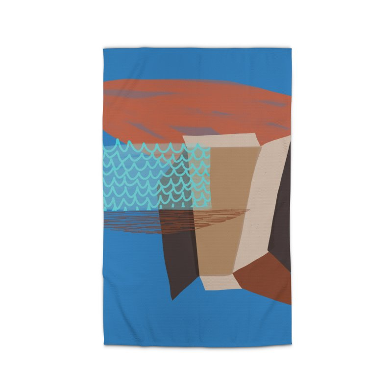Imaginary Architecture 3 Home Rug by Michael Pfleghaar