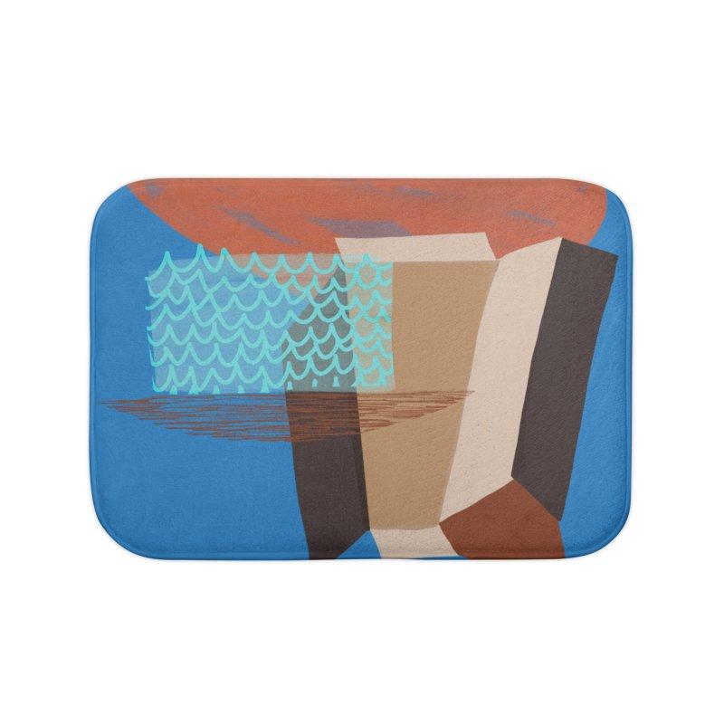 Imaginary Architecture 3 Home Bath Mat by Michael Pfleghaar