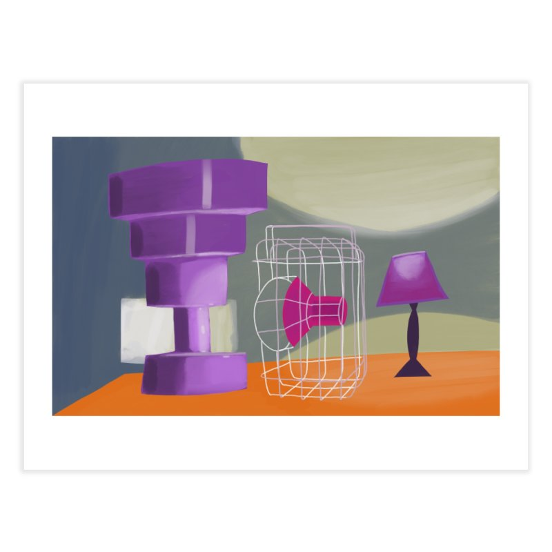 Postmodern Still Life Home Fine Art Print by Michael Pfleghaar