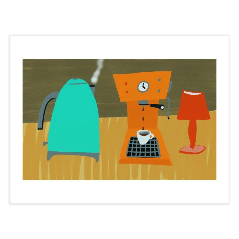 Weekend Coffee Home Fine Art Print by Michael Pfleghaar