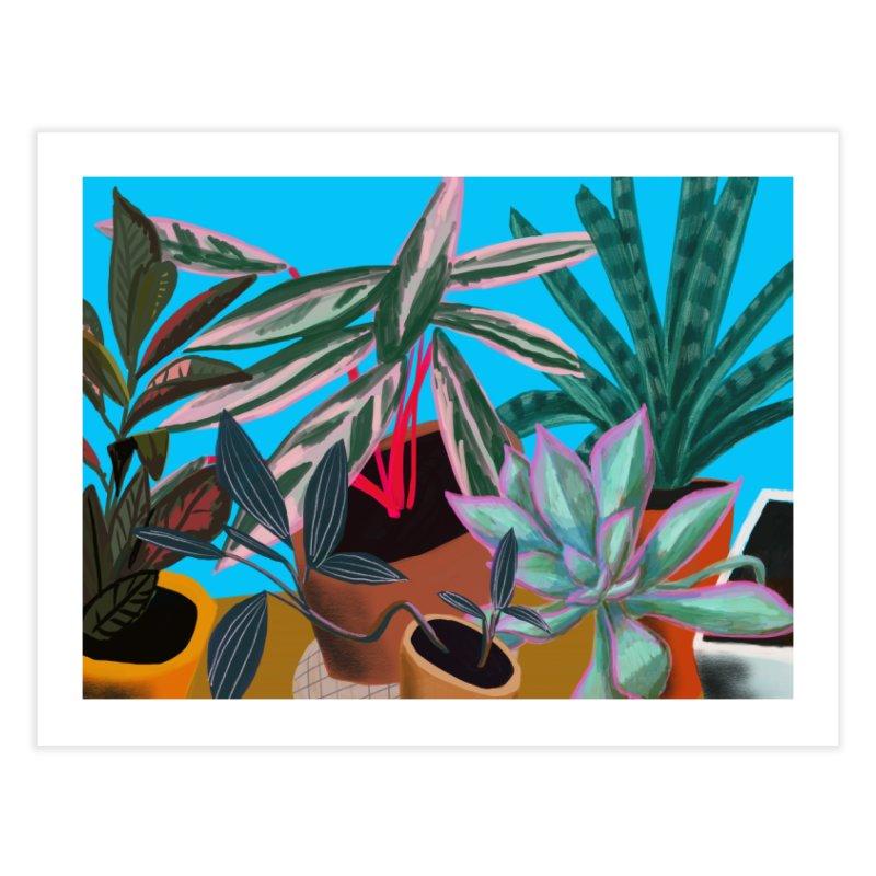 Botanical Garden 2 Home Fine Art Print by Michael Pfleghaar