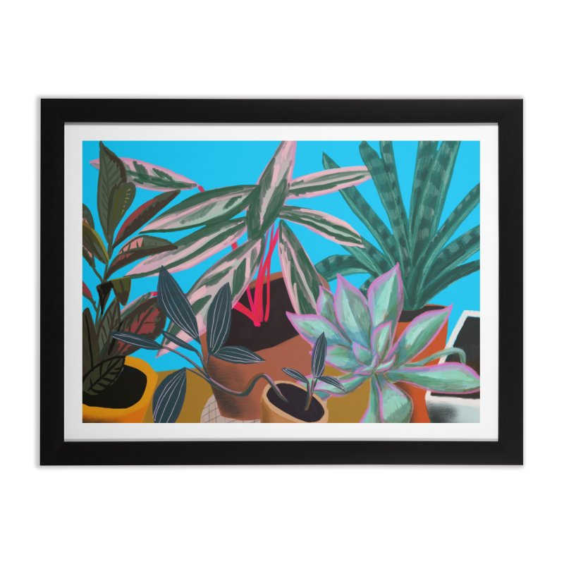 Botanical Garden 2 Home Framed Fine Art Print by Michael Pfleghaar