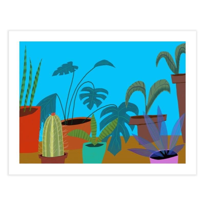 Botanical Garden 1 Home Fine Art Print by Michael Pfleghaar