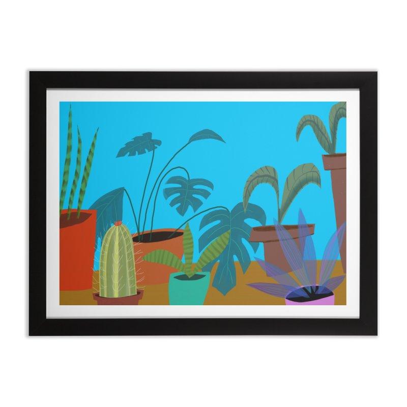 Botanical Garden 1 Home Framed Fine Art Print by Michael Pfleghaar