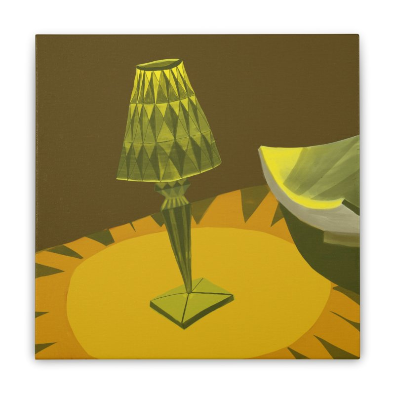 Jeweled Lamp and Bowl Home Stretched Canvas by Michael Pfleghaar
