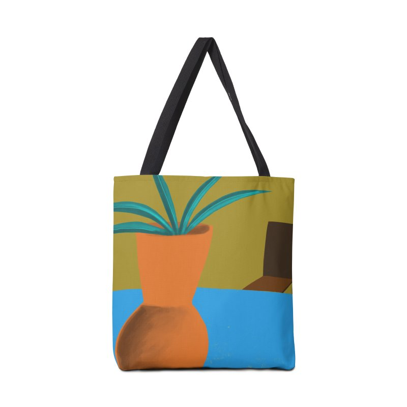 Orange Vase Accessories Bag by Michael Pfleghaar