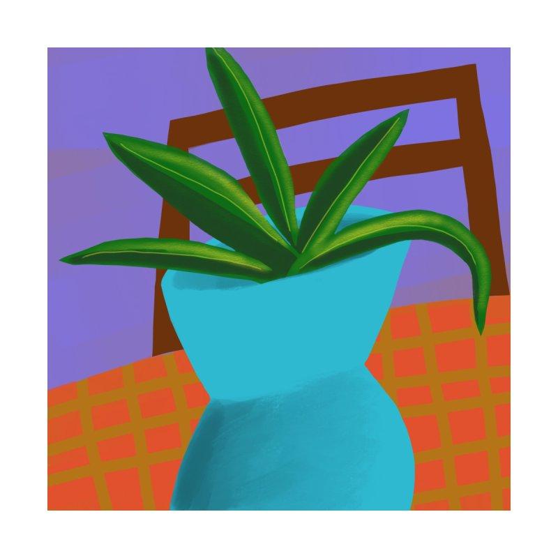 Blue Vase by Michael Pfleghaar
